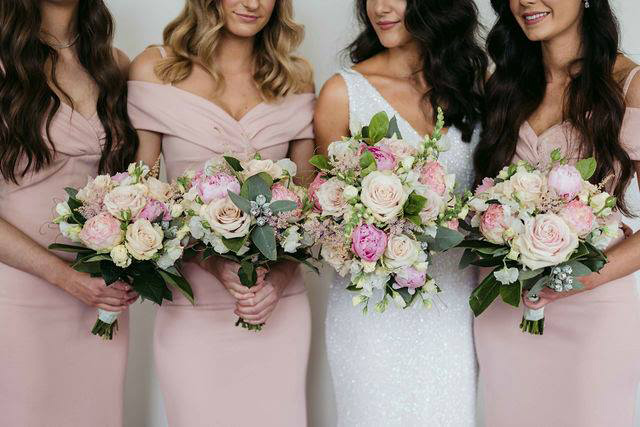 Melbourne Wedding Group - Florists - Wandin Florist - Wedding Party Flowers