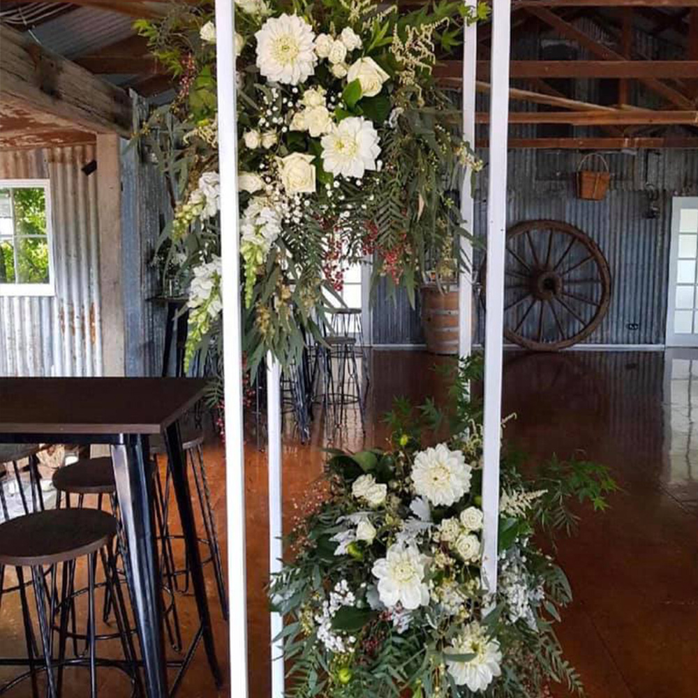 Melbourne Wedding Group - Florists - Wandin Florist - Wedding Reception Flowers